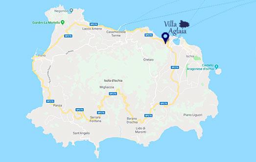 casa vacanze villa Ischia casamicciola